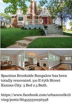 01-09-14 Brookside Neighborhood - Oak Meyer Gardens Walkscore of 56 For more homes for sale in this neighborhood go to: www.urbancoolkcteam.com