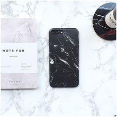 Black Marble iPhone 7 Plus Case iPhone 7 Case iPhone 6 Case