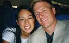 Chip and Joanna Gaines on their honeymoon