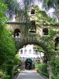 Mission Inn, Riverside, CA. A wonderful place to tour, excellent restaurants...lots of history. HAve lost track of how many times we have visited it.
