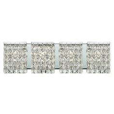Waltz 4-light Polished Chrome Vanity - Overstock™ Shopping - Top Rated Z-Lite Sconces & Vanities