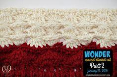 Wonder Crochet Blanket crochet-a-long, Part 2, free pattern on Oombawka Design