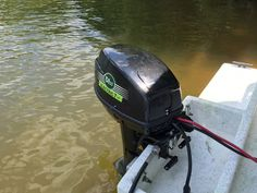 Check out this electric boat motor from Elco Motor Yachts! Brandware's Anthony Popiel was lucky enough to use this motor firsthand at the Dixie Duel Open sponsored by our friends at Elco Motor Yachts in Covington, GA this past weekend.