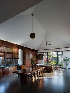 MM++ Architects Farmhouse Architecture, Modern Architecture House, Residential Architecture, Cosy House, Van Home, Indochine, Indian Home Decor, Dining Room Design, My Living Room