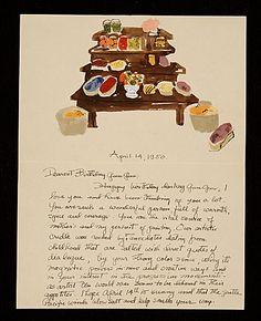 Citation: Honoré Sharrer, New York, N.Y. letter to Honoré Sachs, 1950 Apr. 14 . Honoré Sharrer papers, Archives of American Art, Smithsonian Institution.
