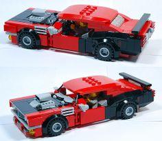 LEGO '71 HEMI Barracuda