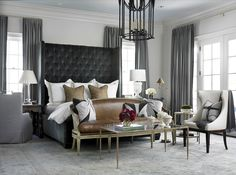 An equestrian heart would feel right at home in this beauty. - Architecture and Home Decor - Bedroom - Bathroom - Kitchen And Living Room Interior Design Decorating Ideas - Brown Bedroom Decor, Home Decor Bedroom, Bedroom Ideas, Warm Bedroom, Brown Decor, Bedroom Colors, Bedroom Designs, Bedroom Apartment, Bedroom Furniture