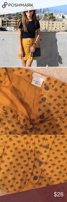 Urban Outfitters skirt In perfect condition! Wore a couple times. Super cute staple for an outfit Urban Outfitters Skirts Mini