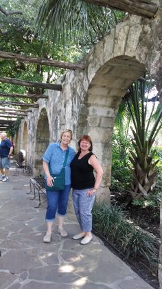 Fellow Montlake romance author Barbara Longley and I toured the Alamo together during the RWA conference in San Antonio, 2014.