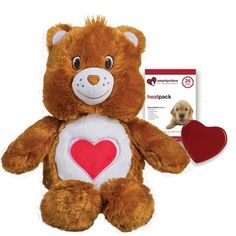 Care Bear- Tender Heart Brown