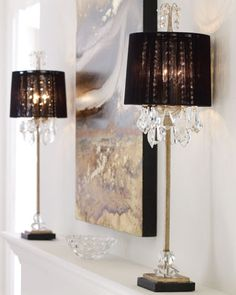 Shop Christella Buffet Lamp at Horchow, where you'll find new lower shipping on hundreds of home furnishings and gifts. Traditional Table Lamps, White Elegance, Buffet Lamps, Chandelier Lamp, Chandeliers, Home Bedroom, Bedroom Ideas, Bedroom Lamps, Bedroom Lighting