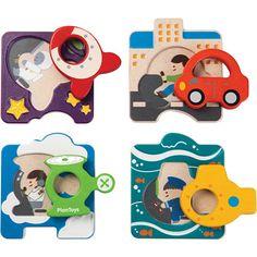 5675 Plan Toys пазл транспорт plan toys деревянные развивающие игрушки