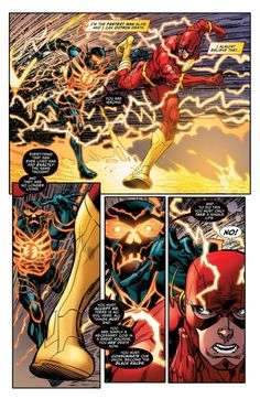 BARRY ALLEN Running For His Life -- Again -- In JUSTICE LEAGUE: DARKSEID WAR - THE FLASH Preview | Newsarama.com