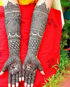 beautiful mehndi designs for weddings
