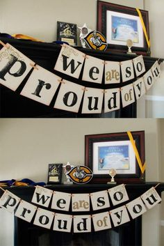 18 Creative Graduation Party Decoration Ideas for More Fun There are plenty of graduation, New Year, Halloween, and birthday party ideas available online. But all those ideas cannot be compared with the ones presented here. How lovely!http://glaminati.com/graduation-party-decoration-ideas/