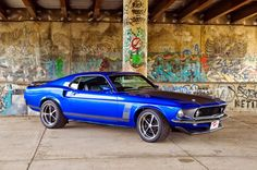 1969 Ford Mustang Boss 302 #mustang #fordmustang #musclecar - V8 Muscle Cars - American Muscle Cars - Google+