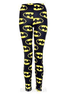 Batman Print Leggings
