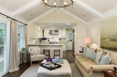 Timeless, Traditional Kitchen + Living Room   2014   HGTV