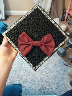 I like the rhinestones and bow - not so much the print.