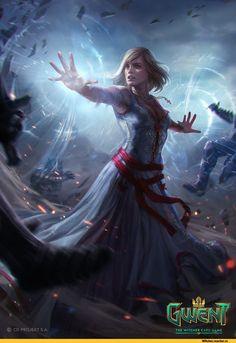 Bogna Gawrońska,Кейра Мец,Witcher Персонажи,The Witcher,Ведьмак, Witcher, ,фэндомы,гвинт
