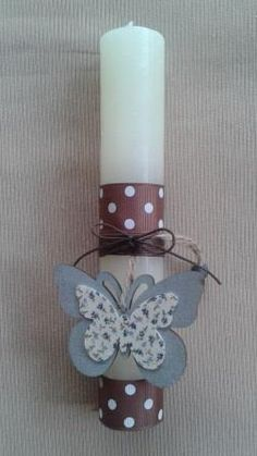 Handmade Easter Candle Easter Crafts, Easter Ideas, Greek Easter, Candels, Candle Making, Holidays And Events, Candle Sconces, Easter Candle, Wall Lights