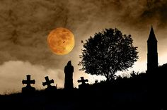 An old graveyard by Pirmin Nohr