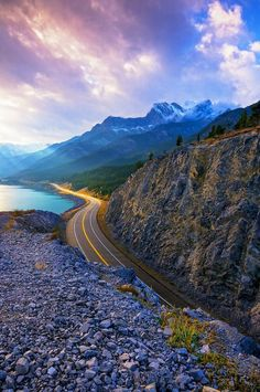 Lake Highway, Alberta, Canada