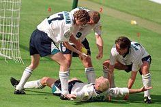 Euro '96: England vs. Scotland, goal and dentist's chair celebration