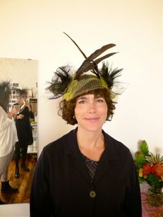 Moriah Carlson of @Sarah Kitagawa Childe :: Alice and Moriah made this lovely hat when she hosted the workshop with Alice Wu in October 2013. The next workshop will be in Oakland in June 2014.
