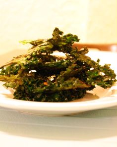 spicy kale chips | drag it through the garden