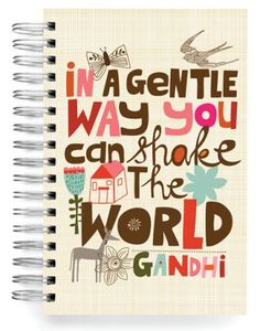 In a gentle way you can shake the world Jumbo Journal