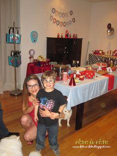4 festa de aniversário de Gabriel - Soda Shop