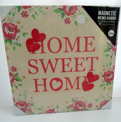 Next Shabby Chic Heart Shaped Message Notice Memo Board Padded