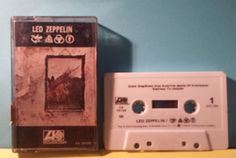 Led Zeppelin IV ZOSO Cassette 1970's Hard Rock ~ Stairway To Heaven ~ Jimmy Page