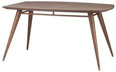 Boyd Dining Table in Walnut Wood by Nuevo - HGST111
