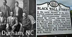 Did You Know Durham, North Carolina Had It's Own Black Wall Street? | Urban Intellectuals