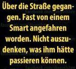 Der arme Smart!/via Google +