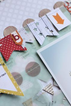 Love the idea of sewing a border straight on to the top of a pocket page when finished