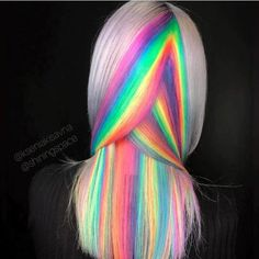 2019 Optimal Power Flow Exotic Hair Color Ideas for Hot and Chic Celebrity Hairs. - 2019 Optimal Power Flow Exotic Hair Color Ideas for Hot and Chic Celebrity Hairs… - Cute Hair Colors, Pretty Hair Color, Hair Dye Colors, Hair Colours And Styles, Under Colour Hair, Colored Hair Styles, Rainbow Hair Colors, Hidden Hair Color, Beautiful Hair Color