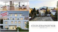 Erstbezug Riedenburg - Wohnerlebnis auf 190 m² Wohnfläche mit 140 m² Sonnen-Terrasse! Villa, Salzburg, Desktop Screenshot, Mansions, House Styles, Home Decor, Terrace, Old Town, Real Estate