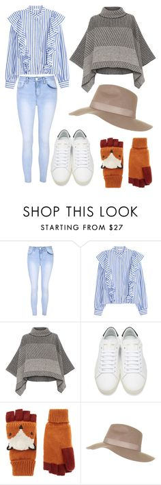 """""""Untitled #110"""" by iuliamariacristea ❤ liked on Polyvore featuring Glamorous, Piazza Sempione, Yves Saint Laurent, Accessorize and Topshop"""