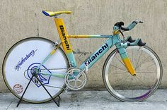 Marco Pantani time trial bike