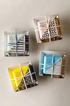 Soap Packaging | Creative Packaging | Cute Soap Wraps | Soap Paper Wrappings