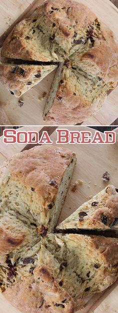 Soda Bread Recipe. #CompleteRecipes #recipe #recipes #food #foodgasm #cleaneating #healthyfood #healthy #healthyrecipes
