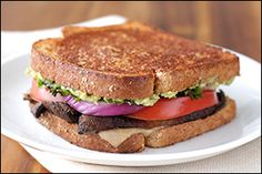 Drop that Steak 'n Shake veggie sandwich! Swap in HG's Melty Veggie Sandwich… and save over 350 calories & 30g of fat!