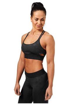 19f0c8219be5a Better Bodies Black Camo Astoria Sports Bra. JustLookSexy