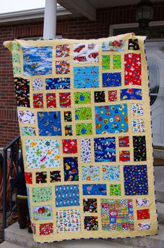 The Charming Tyrants: Eye Spy Quilt
