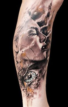 Realism Face Tattoo by Jak Connolly
