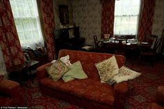 Comfortably shabby in a room that has barely changed since thesiblings bought it in the 1940's - lots of interesting details- June '15