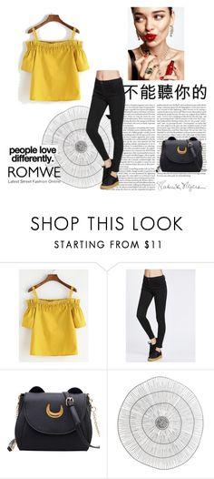 """""""Romwe 91"""" by zerina913 ❤ liked on Polyvore featuring KAROLINA, Cyan Design, Kenzie and romwe"""